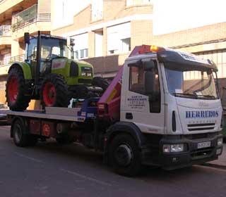 Transporte de maquinaria agrícola